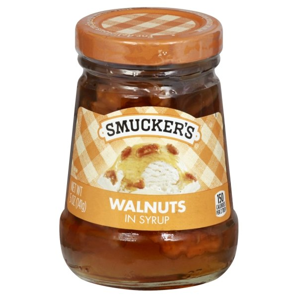Smucker's<sup>&reg;</sup>  Walnuts in Syrup Spoonable Ice Cream Topping