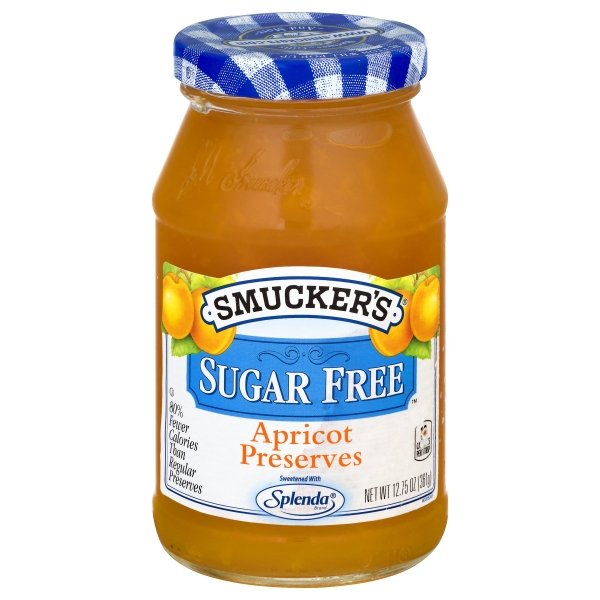 Smucker's Sugar Free Apricot Preserves with Splenda Brand Sweetener