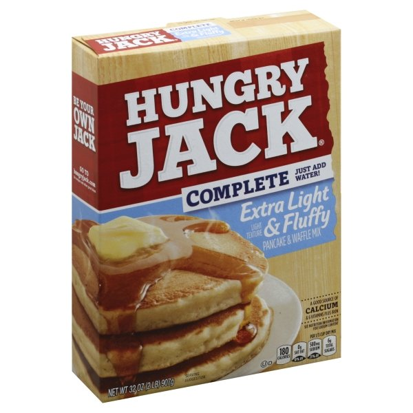 Hungry Jack  Complete Extra Light & Fluffy Pancake & Waffle Mix