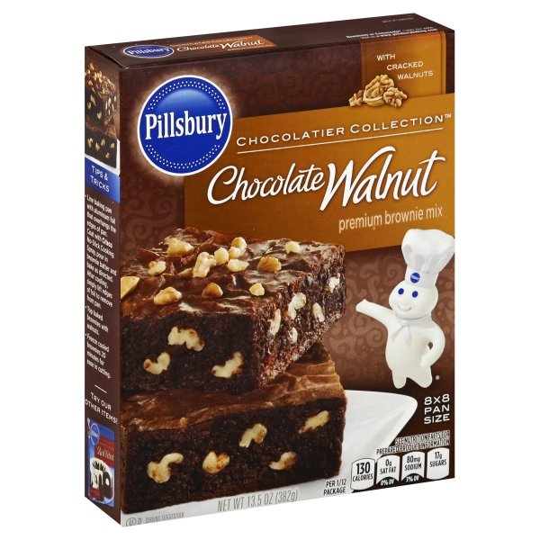 Pillsbury Chocolatier Collection Chocolatier Collection™ Chocolate Walnut Premium Brownie Mix