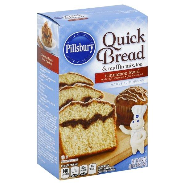 Pillsbury  Cinnamon Swirl Quick Bread & Muffin Mix