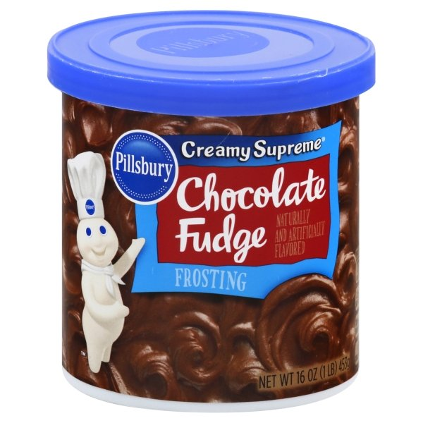 Pillsbury Creamy Supreme Chocolate Fudge Flavored Frosting