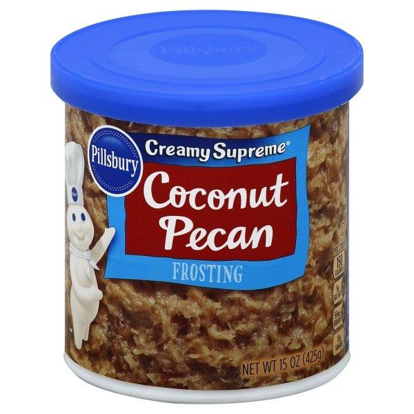 Pillsbury Creamy Supreme Coconut Pecan Flavored Frosting