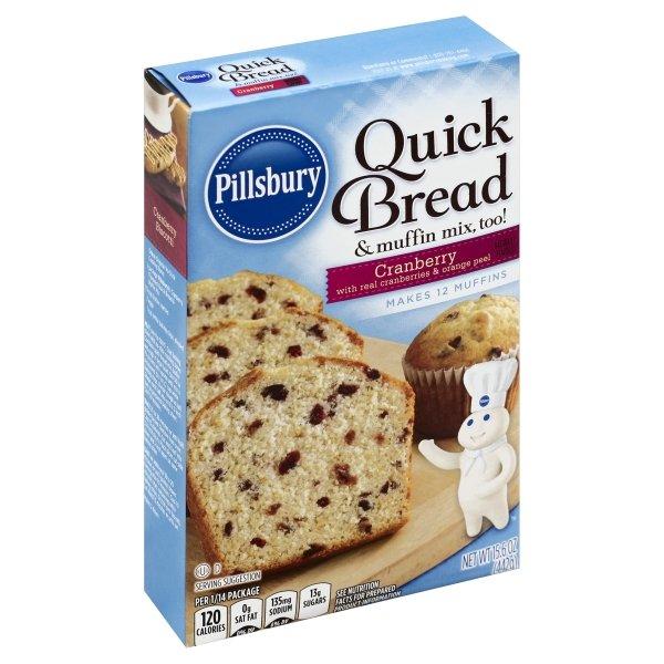 Pillsbury  Cranberry Flavored Quick Bread & Muffin Mix
