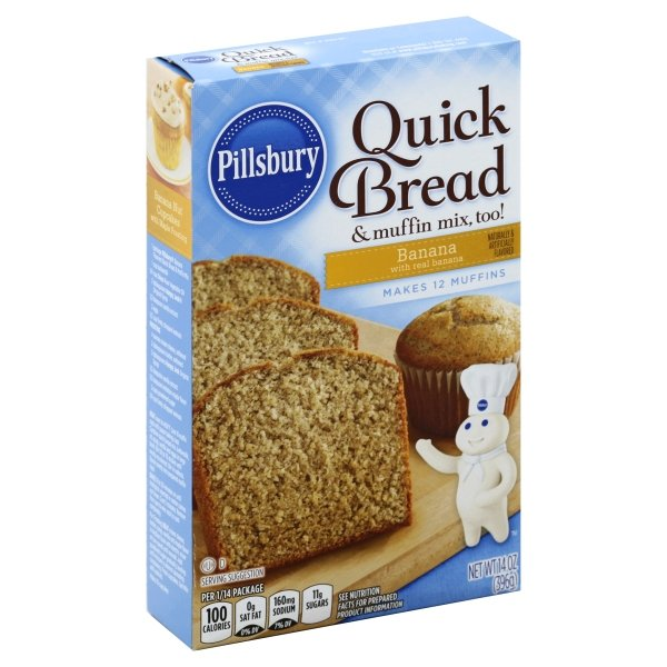 Pillsbury  Banana Flavored Quick Bread & Muffin Mix
