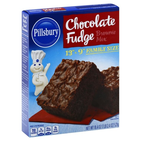 Pillsbury  Family Size Chocolate Fudge Brownie Mix