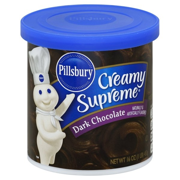 Pillsbury  Creamy Supreme® Dark Chocolate Flavored Frosting