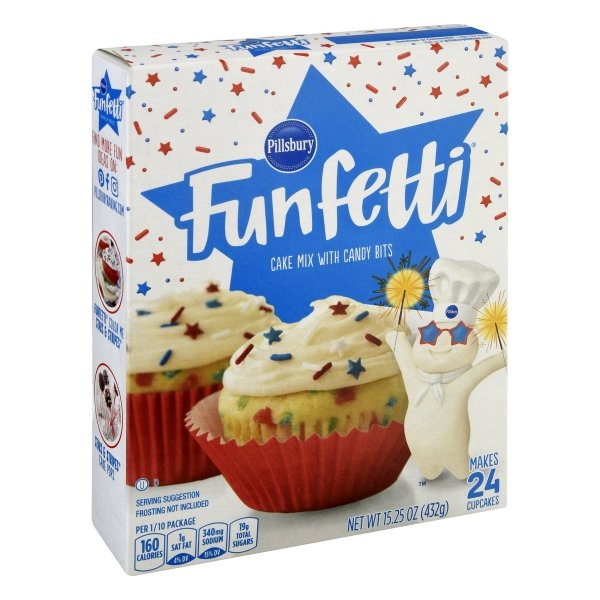 Pillsbury Funfetti Funfetti® Stars & Stripes® Cake Mix