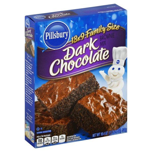 Pillsbury  Family Size Dark Chocolate Brownie Mix