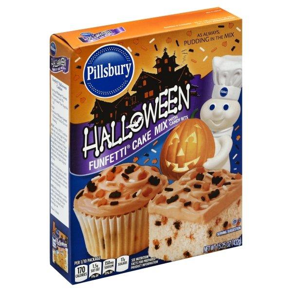 Pillsbury Funfetti Halloween Cake Mix