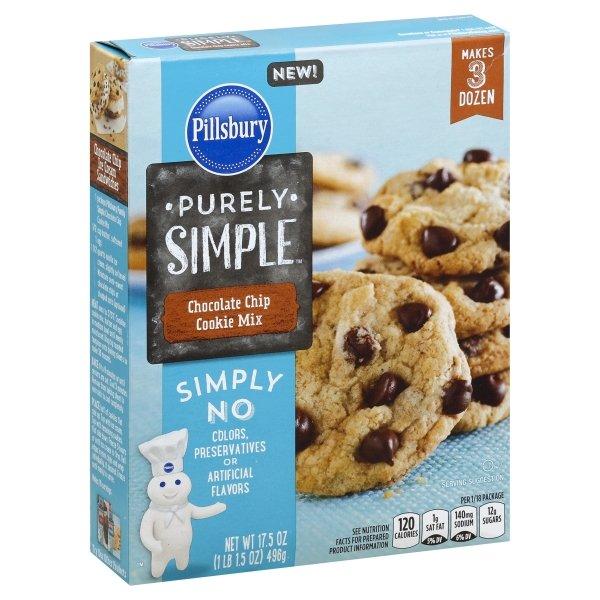 Pillsbury Purely Simple Chocolate Chip Cookie Mix