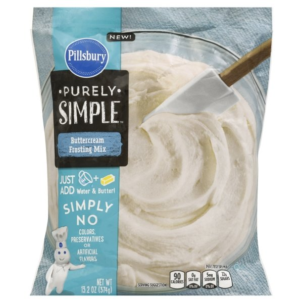 Pillsbury™ Baking Purely Simple Buttercream Frosting Mix