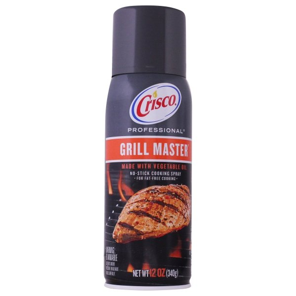 Crisco<sup>®</sup> Professional Grill Master No-Stick Grilling Spray