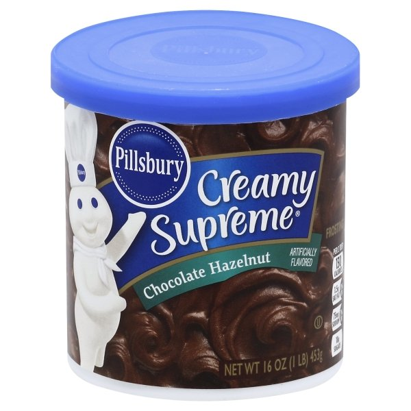 Pillsbury Creamy Supreme Chocolate Hazelnut Flavored Frosting