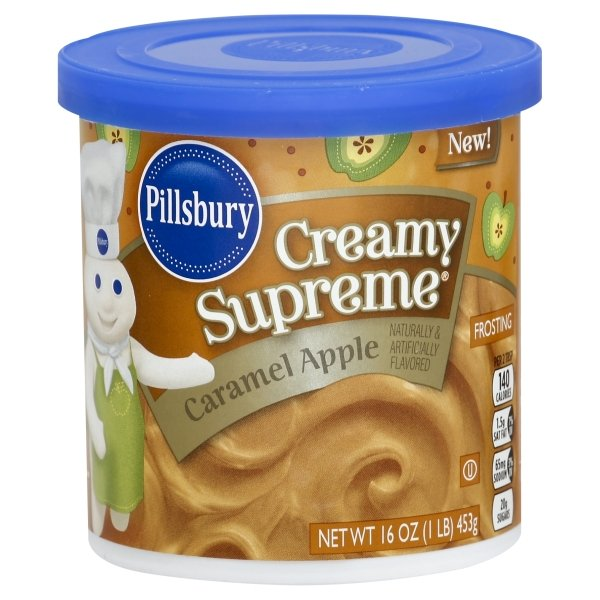 Pillsbury  Creamy Supreme® Caramel Apple Flavored Frosting