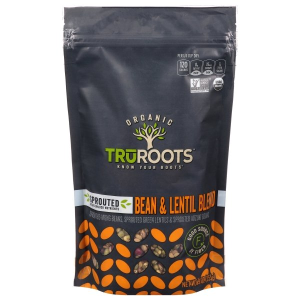 truRoots  Sprouted Bean & Lentil Medley