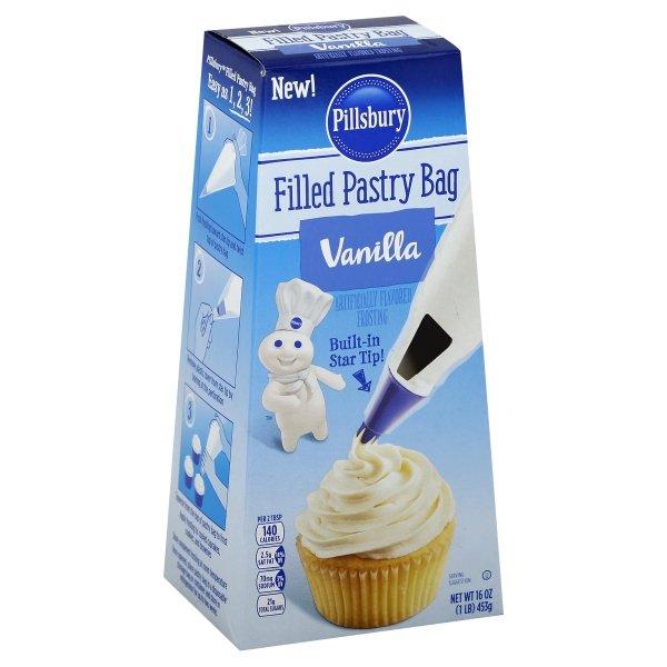 Pillsbury  Filled Vanilla Flavored Pastry Bag