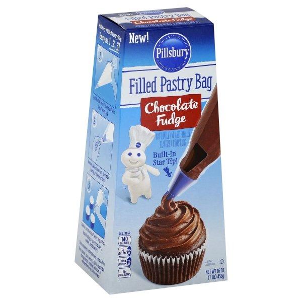 Pillsbury  Filled Chocolate Fudge Flavored Pastry Bag
