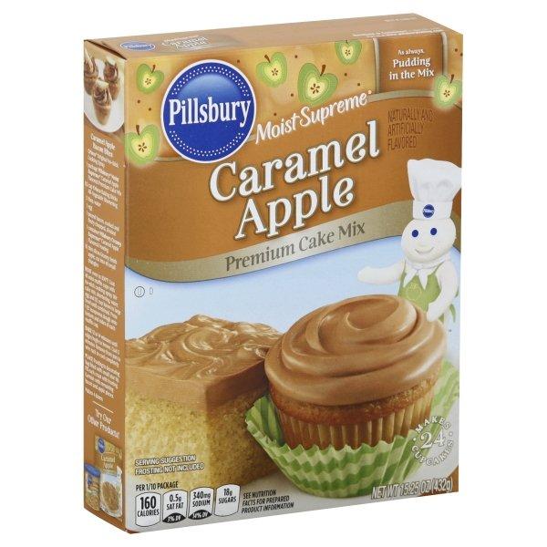 Pillsbury  Moist Supreme® Caramel Apple Flavored Premium Cake Mix