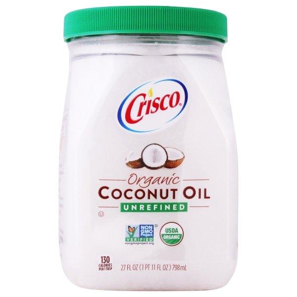 Crisco  Unrefined Organic Coconut Oil