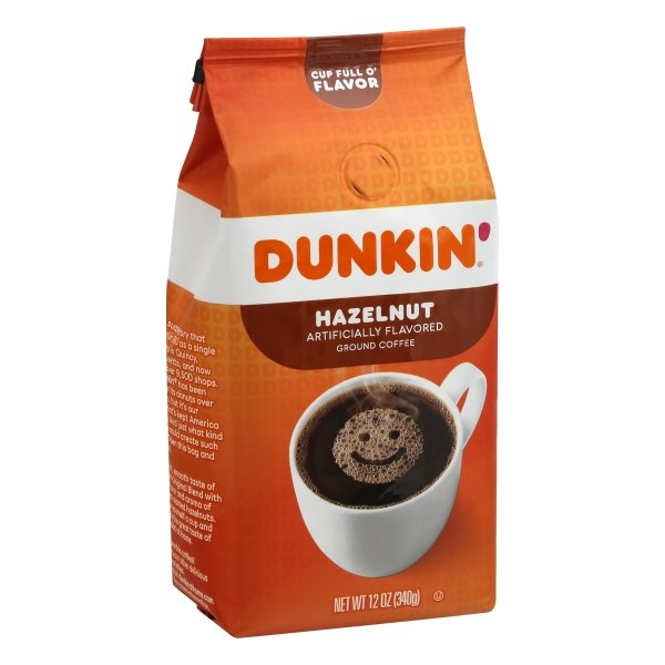 Dunkin' Donuts  Hazelnut Flavored Coffee