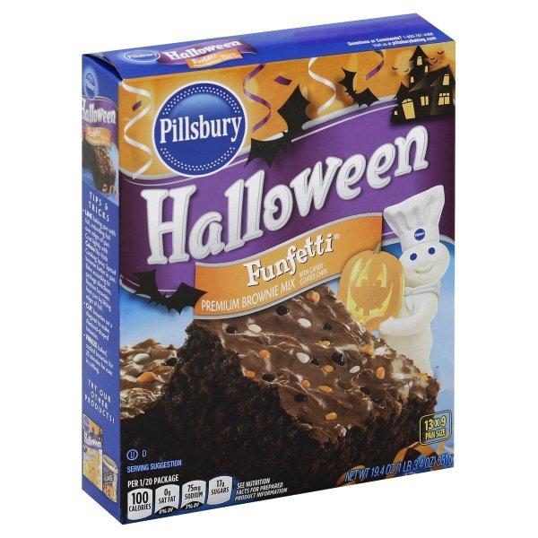 Pillsbury Funfetti Halloween Premium Brownie Mix
