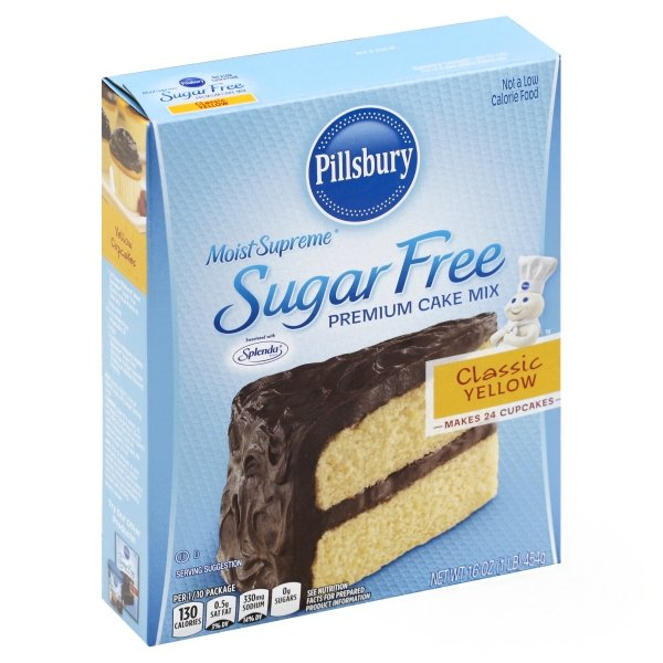 Pillsbury  Moist Supreme® Sugar Free Classic Yellow Premium Cake Mix