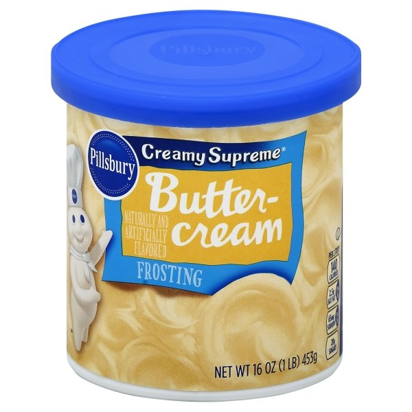 Pillsbury  Creamy Supreme® Buttercream Flavored Frosting